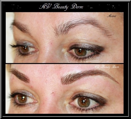 sourcils, maquillage permanent fréjus