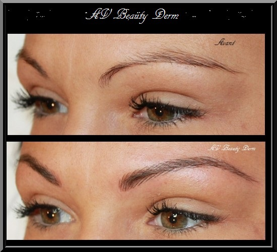 Maquillage permanent sourcils poil par poil - Maquillage permanent sourcil poil poil ...
