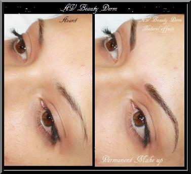 Photos Avbeautyderm Maquillage Permanent Sourcils Eye Liner