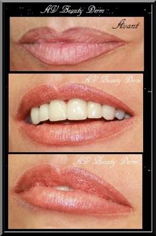 Rouge à lèvre permanent