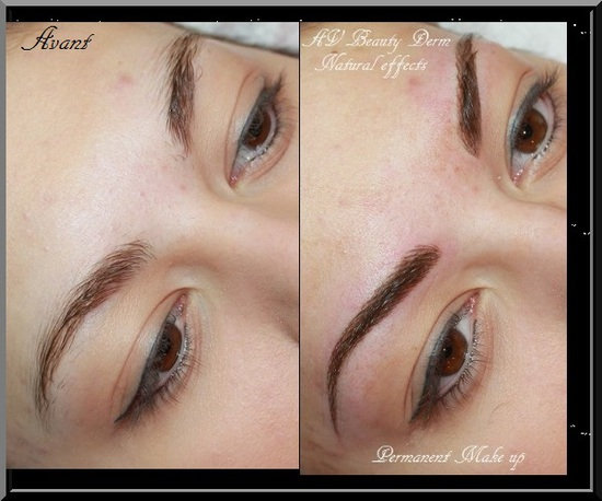 sourcils, maquillage permanent fréjus, cannes, toulon