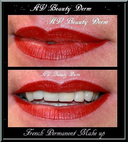 rouge à lèvre permanent, maquillage permanent fréjus, cannes, toulon