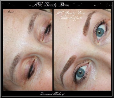 maquillage permanent sourcils,avbeautyderm, photo, natural effect, Var, PACA, France