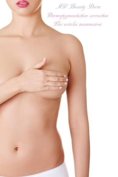 aréoles mammaires avbeautyderm maquillage permanent france